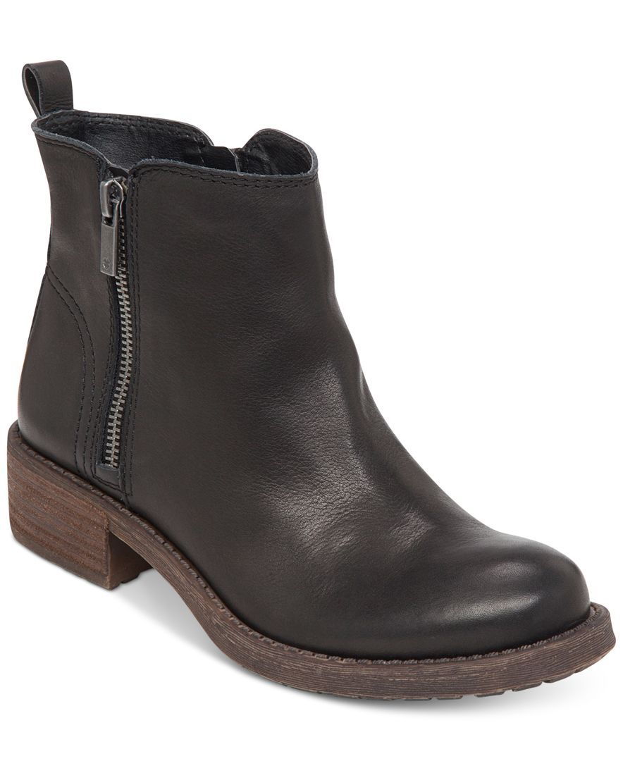 Lucky Brand Womens Darbie Lug Bottom Booties - Booties - Shoes - Macy's