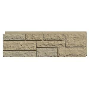 Nextstone Random Rock 15 5 In X 48 In Faux Stone Siding Panel In