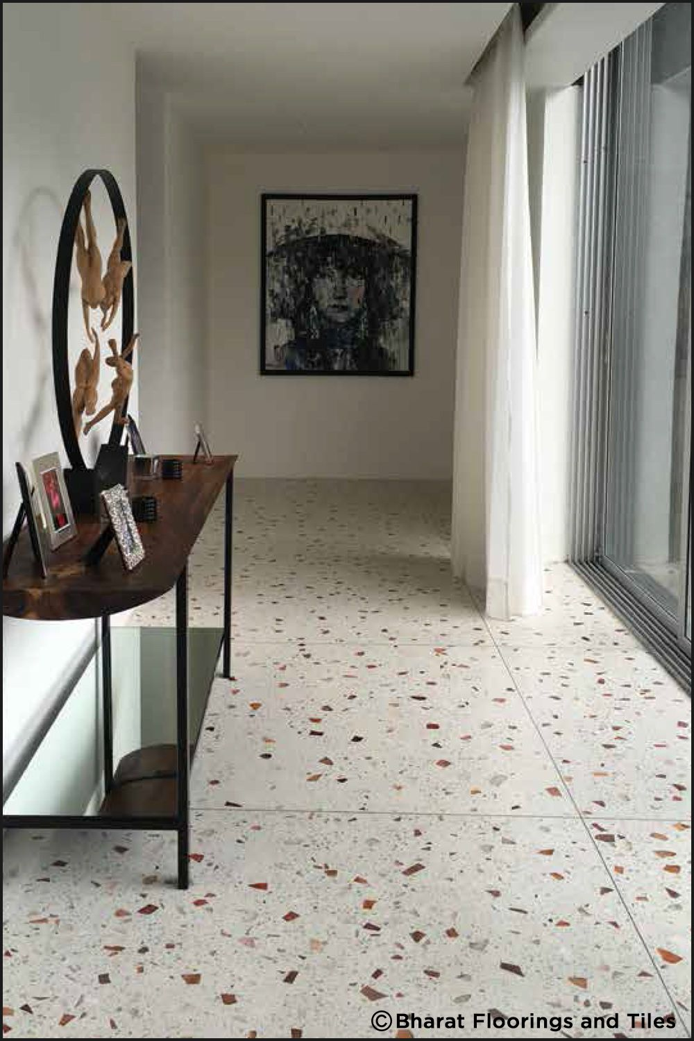 At Bharat Floorings We Believe In Transforming Your Space With Our Wide Range Of Striking Vivid And Unconventional Ce Flooring Floor Design Terrazzo Flooring
