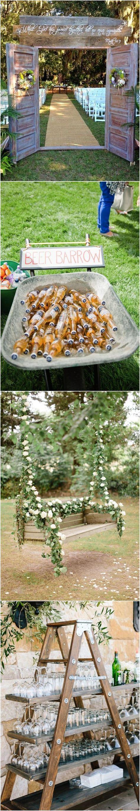 Wedding Decorations » 22 Rustic Backyard Wedding ...