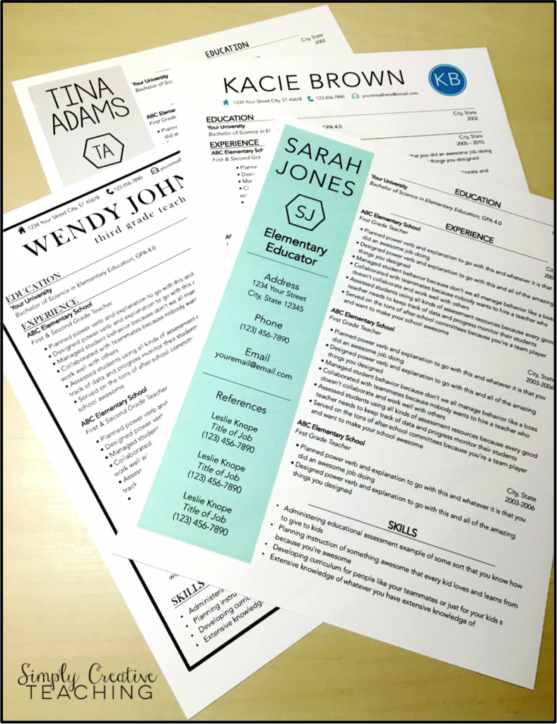 Teacher Resume Tips & Tricks in 2020 (With images