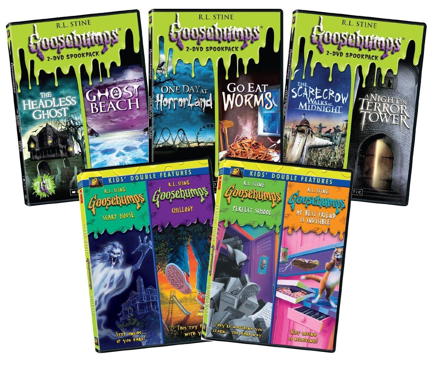 Goosebumps DVD Series Complete Double Pack Collection Set
