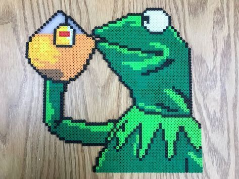 Perler Kermit The Frog That S None Of My Business By Slimer530