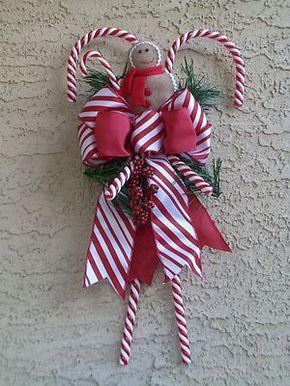 Big Candy Cane Decorations Read Message  Nycaprr  For The Home  Pinterest  Messages