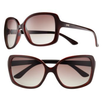 3b4c95a6d2 Lauren Conrad Cellarz Two-Tone Oversized Square Sunglasses - Women ...