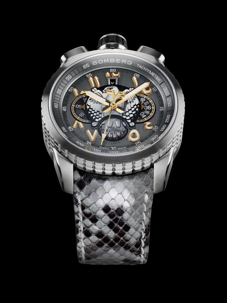 bomberg bolt 68 grey falcon uhren watches relojes. Black Bedroom Furniture Sets. Home Design Ideas