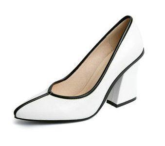 2017 New Fashion Mature Women Pumps 8cm High Heels Woman Elegant Laides  Pumps Square office Woman Pumps Plus Size bd6dd38f2145
