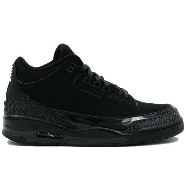 Air Jordan 3 Retro Black Cat Black Dark Charcoal Black