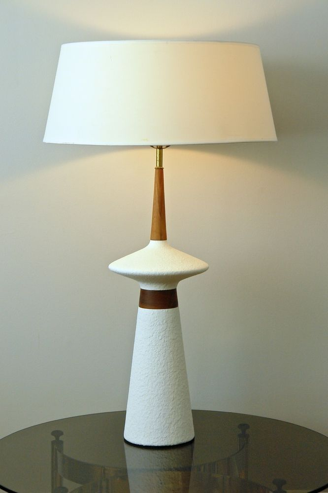 Huge 39 Atomic Space Age Mid Century Mod 60 S Table Lamp Adrian