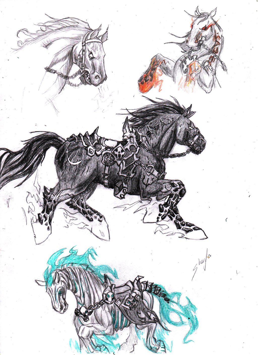 darksiders_horses_by_conceptartsx-d66nz36.jpg (1024×1410)