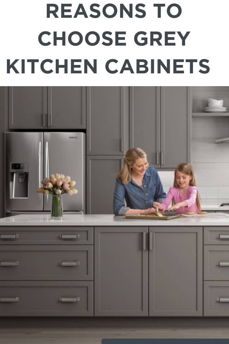 Reasons To Choose Grey Kitchen Cabinets Wolf Home Products Grey Kitchen Cabinets Kitchen Cabinets Grey Kitchen