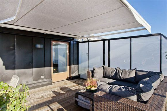 Urban Terrace Larger Than The Compact Penthouse Apartment