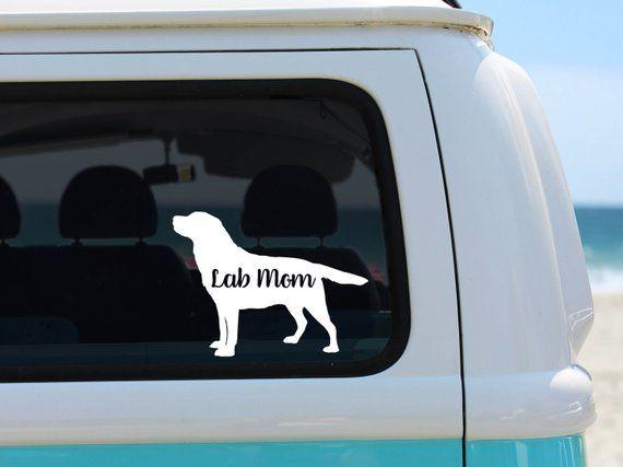 Pug Dog for Car Truck Window Laptop Pug on Leash Vinyl Decal Sticker