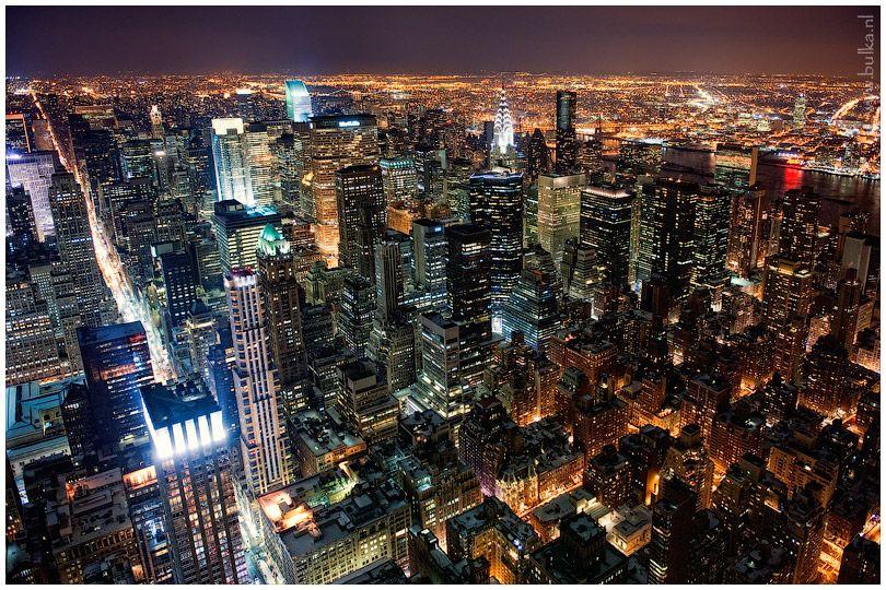 Nyc Night Views Of Manhattan City Photography Night City Beautiful Landscapes