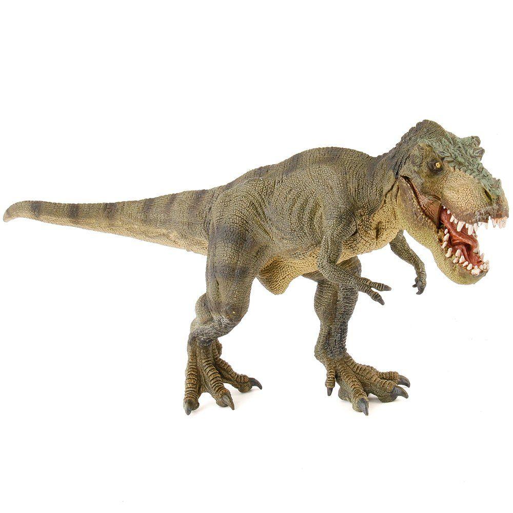Papo The Dinosaur Figure Green Running T Rex Tyrant Lizard King