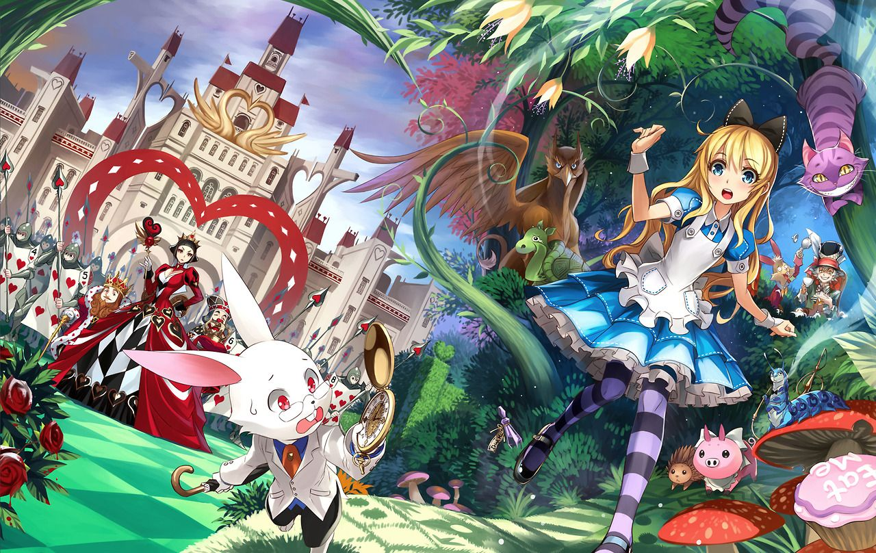 Pin By Evelyn Holbrook On Alice In Wonderland In 2019 Anime