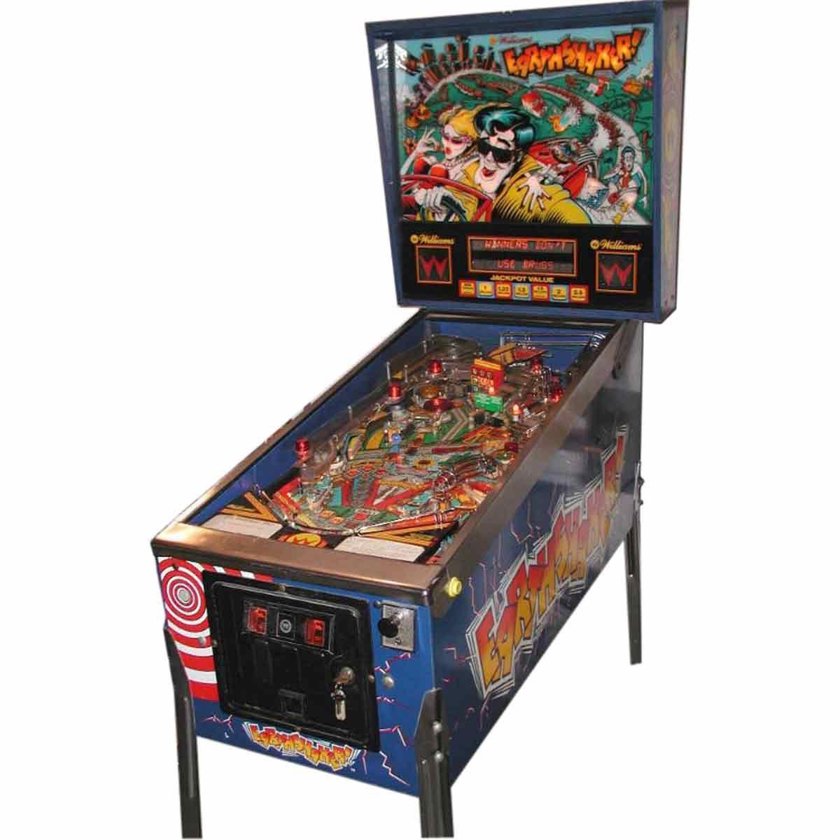 Earthshaker! Pinball Machine by Williams   Pinball Plans