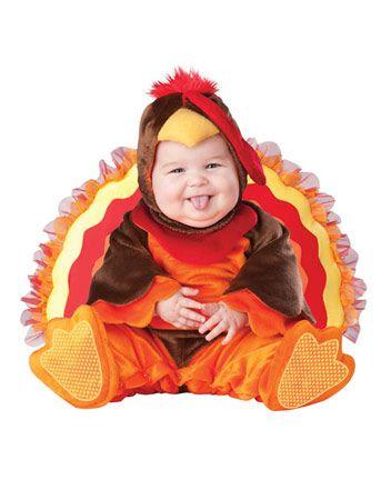 infant toddler lil gobbler costume infanttoddler animals halloween costumes