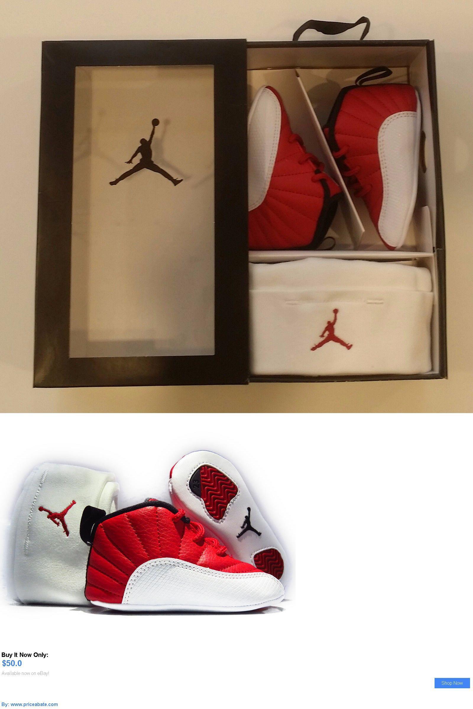 Baby Girls Shoes Air Jordan 12 Retro 378139 600 Infant Gift Pack