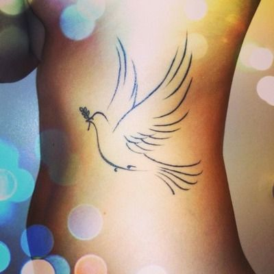 Dove n olive branch libra symbol | Tattoos .. | Dove ...