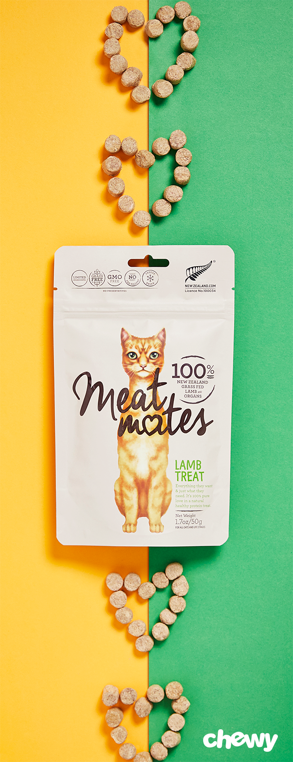 Get ready for the meowing because after one bite, your