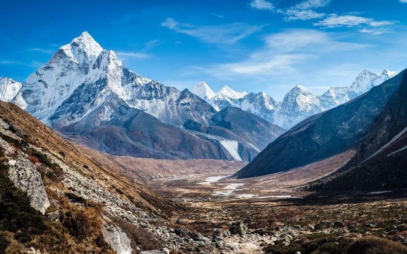 Himalayas Mountain Range | Himalayan Mountains Wallpaper ...
