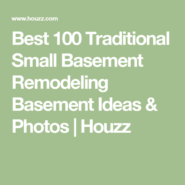 Best 100 Traditional Small Basement Remodeling Ideas Photos