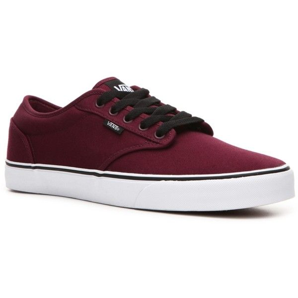 35ef35a2a247ef Vans Atwood Skate Sneaker - Mens ( 50) ❤ liked on Polyvore featuring shoes