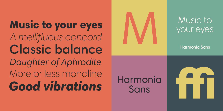 Harmonia Sans™ - Webfont & Desktop font « MyFonts   Criminal Color ...