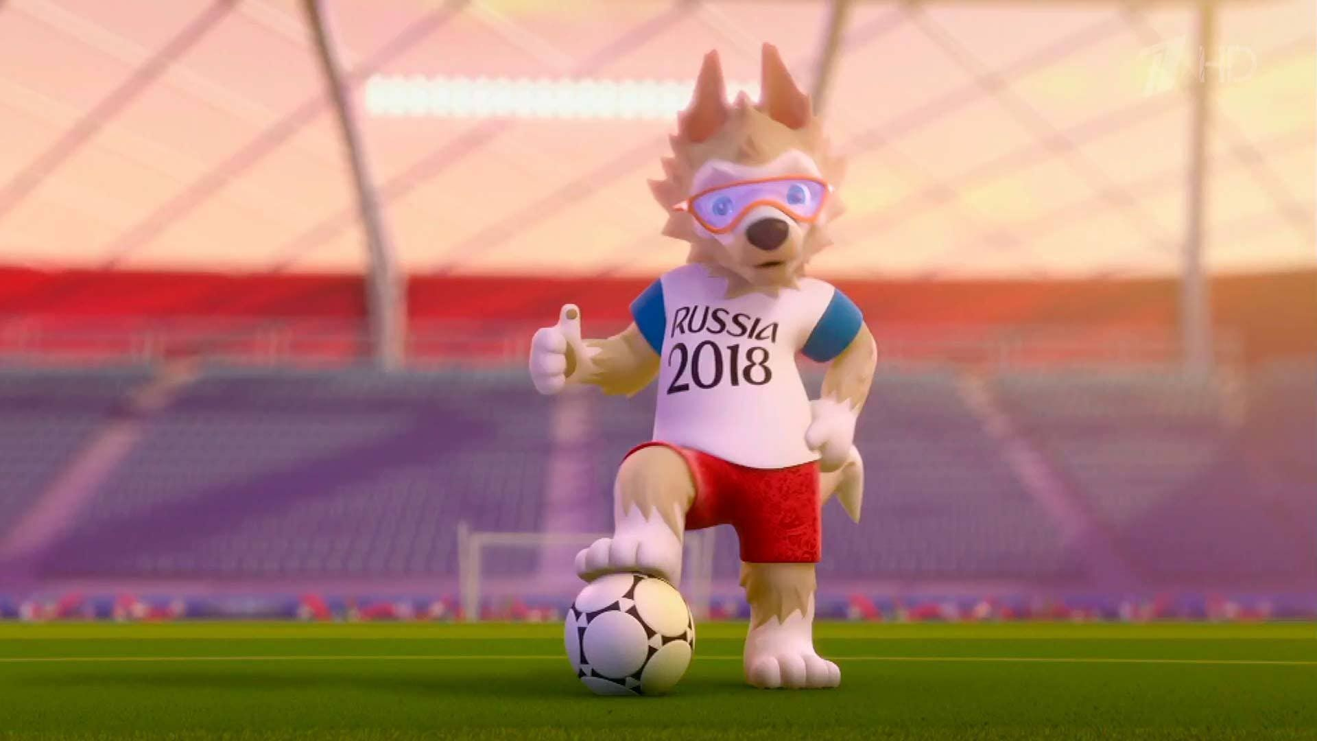 Wolf Chosen As 2018 Fifa World Cup Official Mascot And Named Zabivaka Fifa Russia World Cup Fifa World Cup