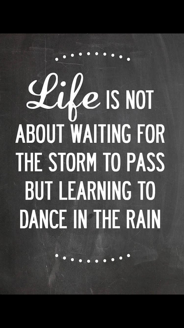 Dance In The Rain Today!