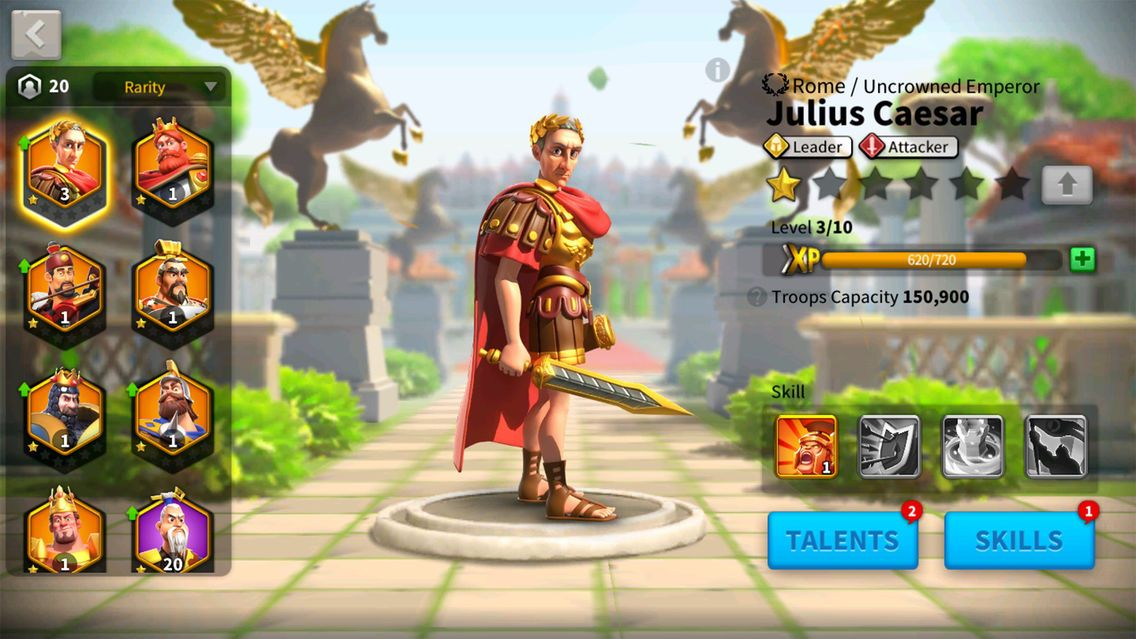 Play Rise of Civilizations which is changed to Rise of