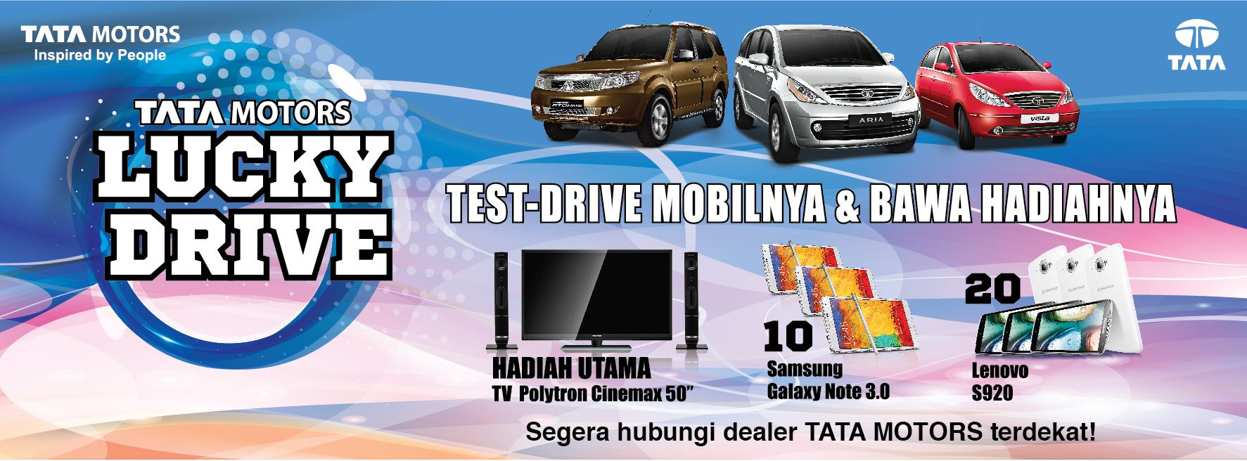 Pin di Tata Motors Indonesia Campaign