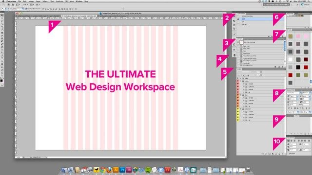 The Ultimate Web Design Workspace for Photoshop
