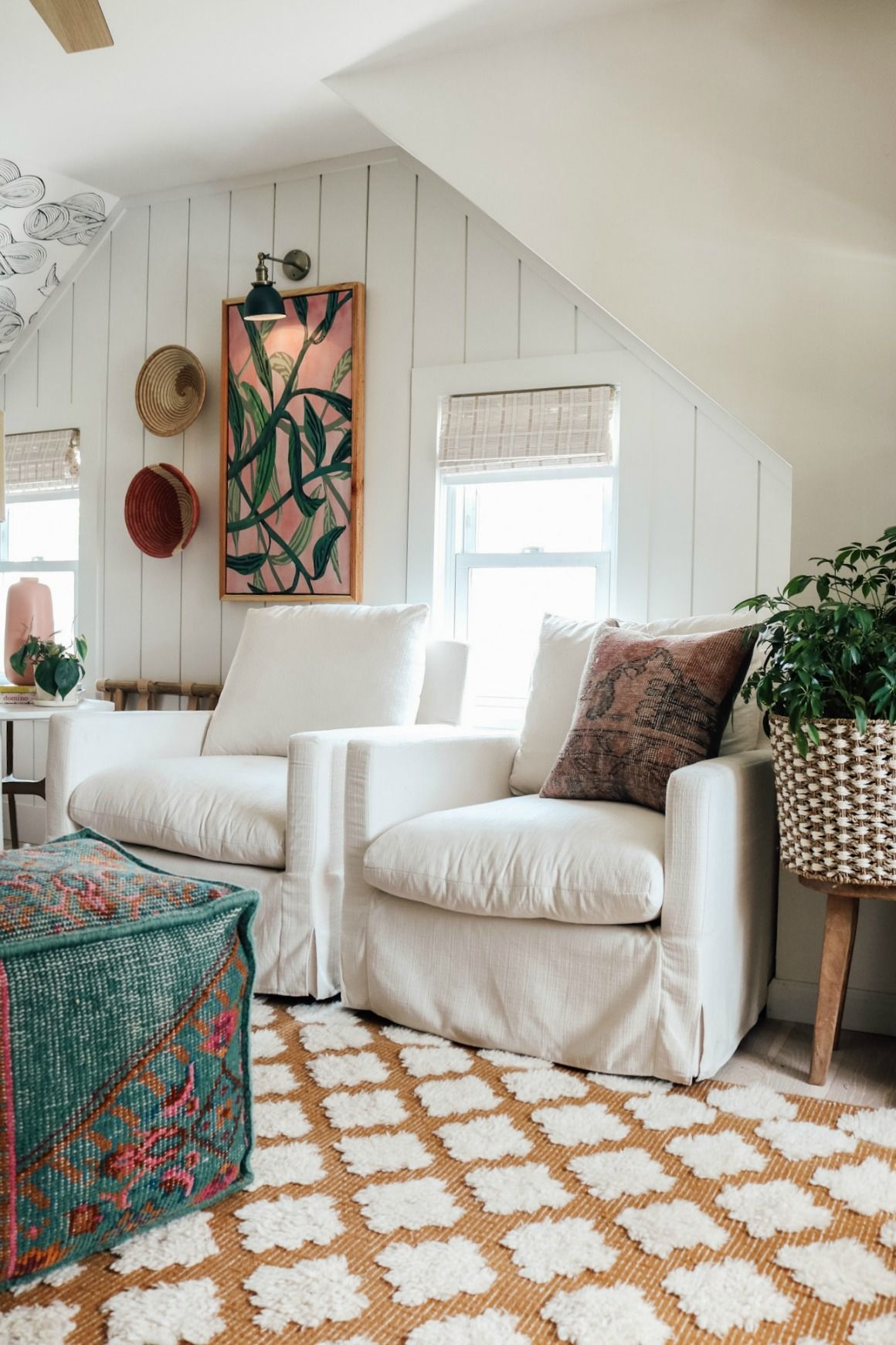 Upstairs Family Room Update - Nesting With Grace