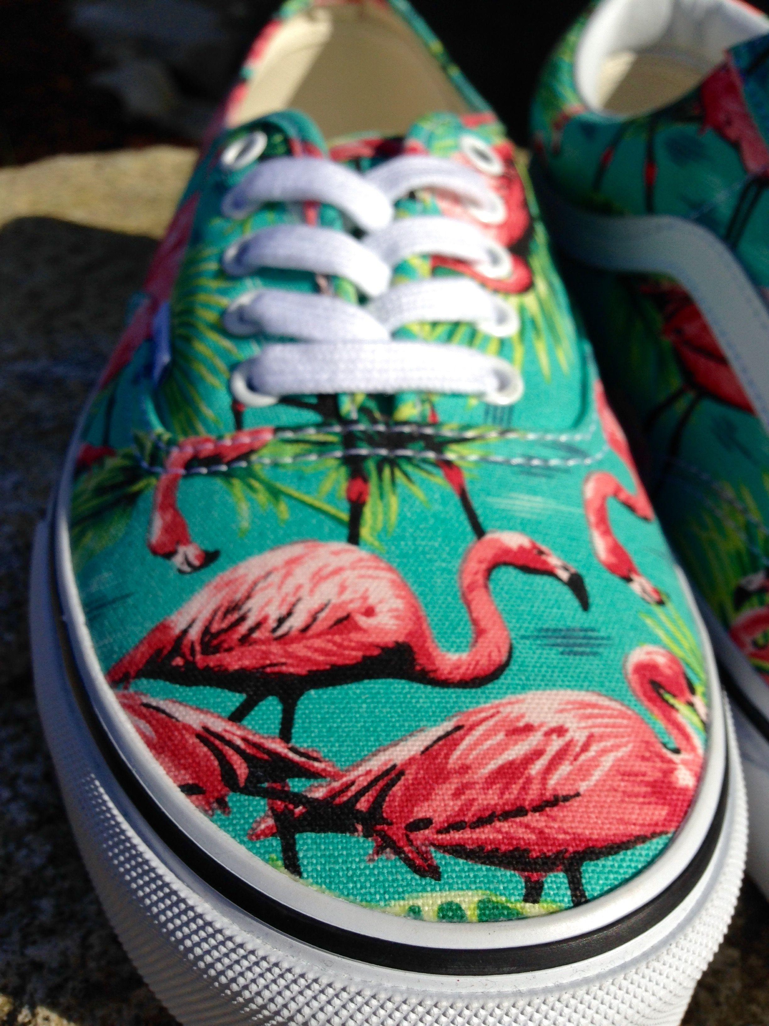 ada2fe7af40 Vans Authentic Van Doren Flamingo Skate Shoes