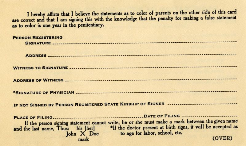 Image result for 1920s birth certificate new york Annie Props - a blank birth certificate