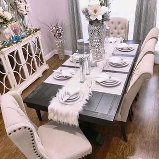 Bradding Black Plank Dining Tables Pier 1 Imports Formal Dining Room Table Decor Dining Room Table Decor Living Room Decor Cozy