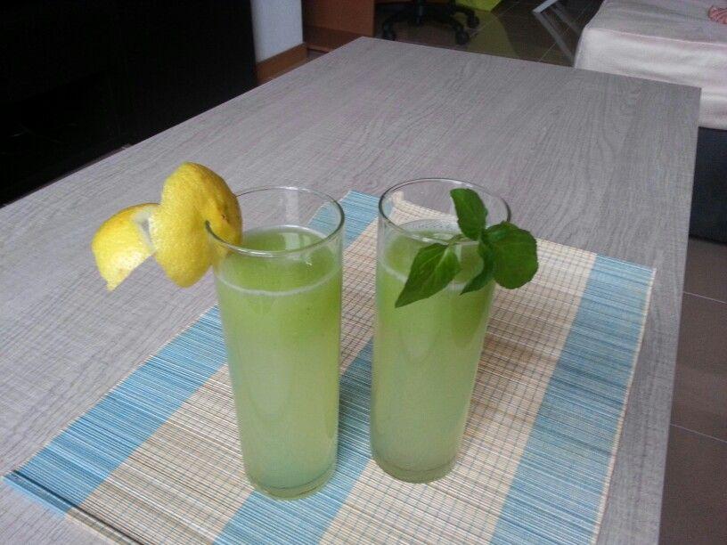 Limonada+hierbabuena