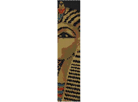 Schema peyote Tutankhamon (PDF per bracciale) di AntosCreations su Etsy