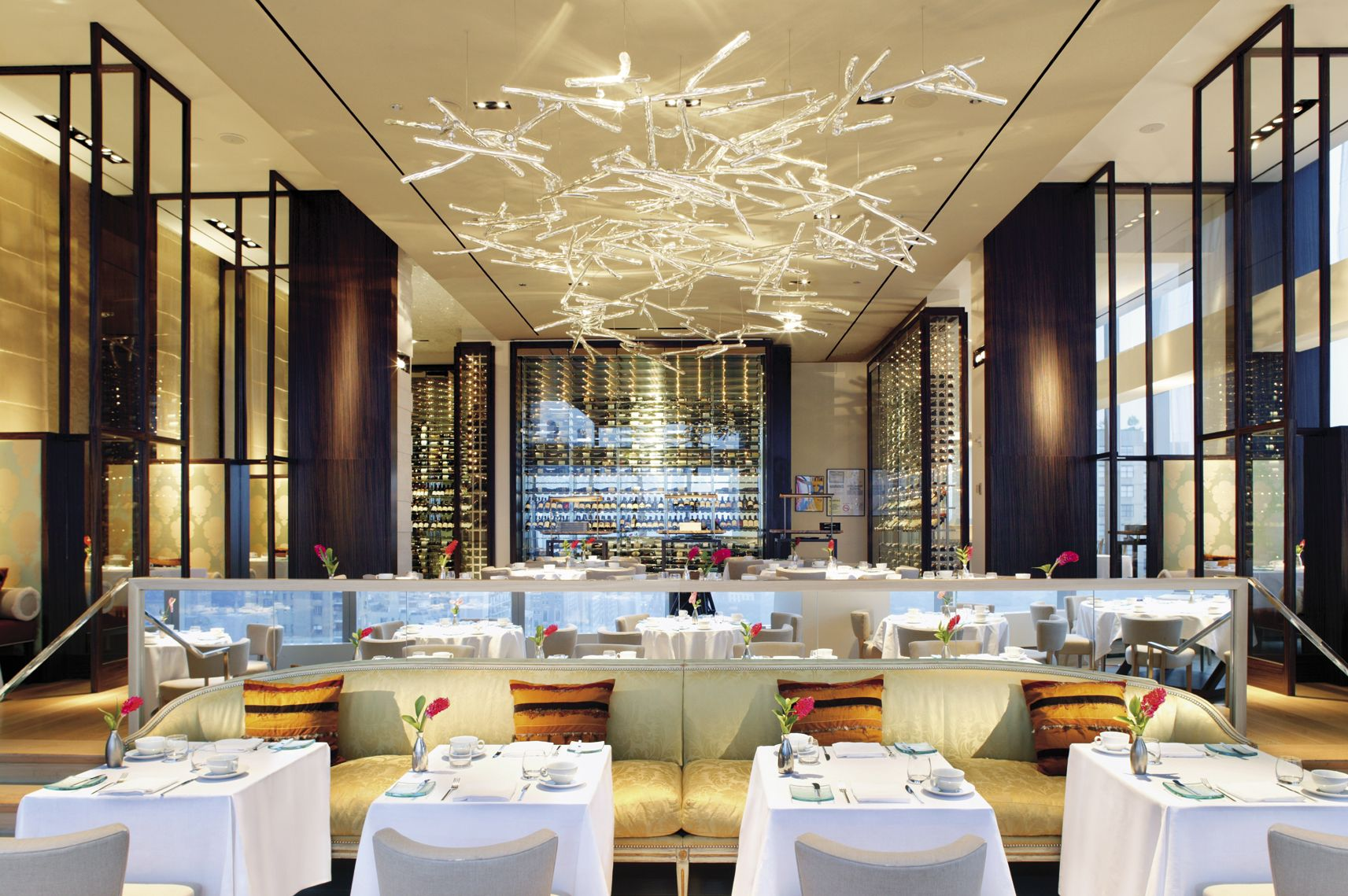 Mandarin Oriental New York The Asian Fusion Restaurant Asiate Is A Top City Table