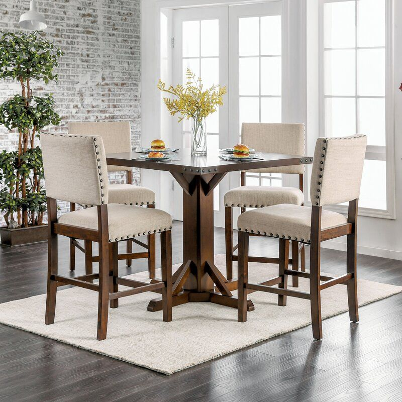 Felix 5 Piece Dining Set In 2020 Dining Room Sets Counter