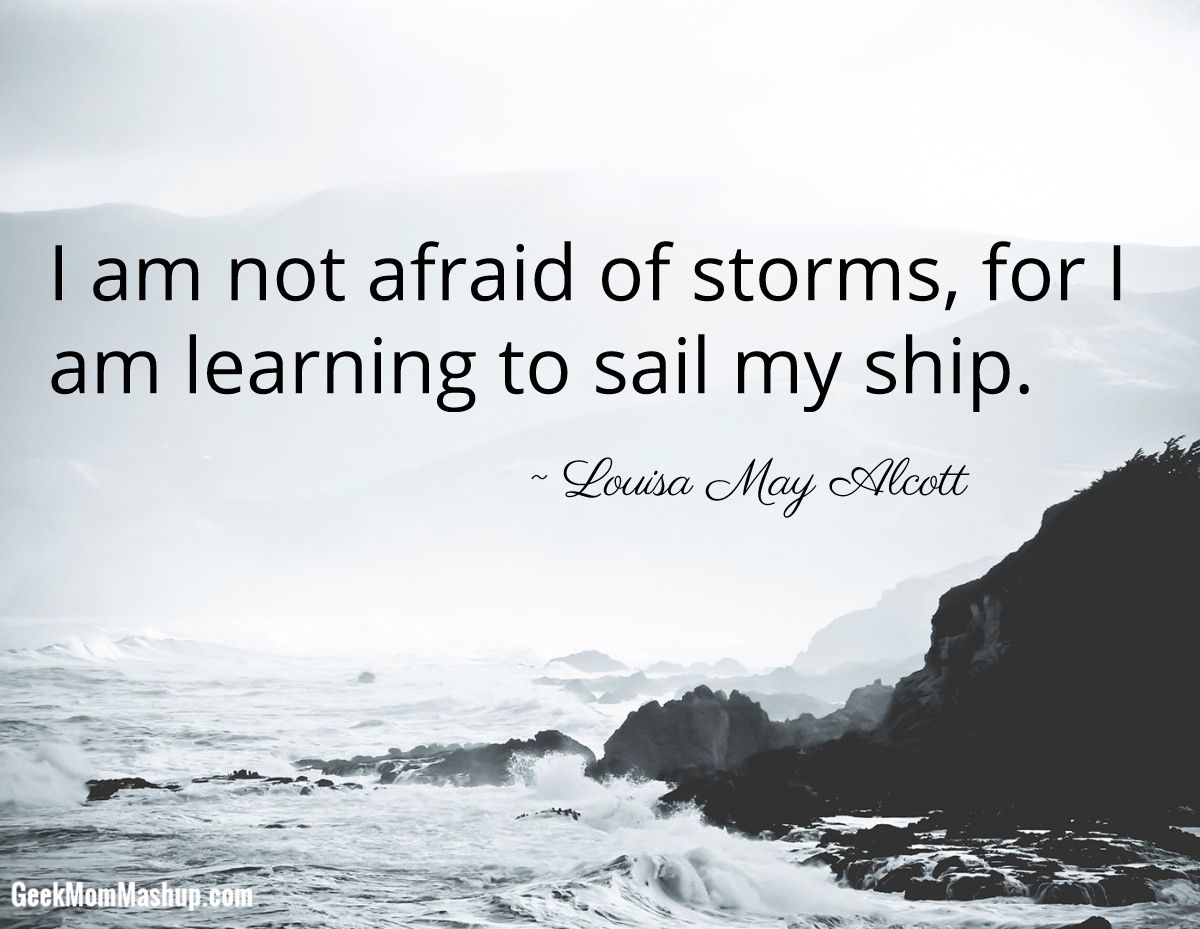 Ship Quotes Life Is All About Learningwe Can't Be Afraid Of The Unknown If