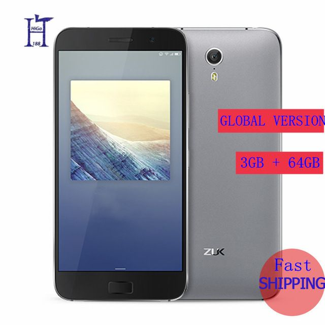 """Check lastest price Original Lenovo ZUK Z1 3G RAM 64G ROM Global Version Quad Core Snapdragon 801 LTE 4G 4100mAh  5.5 """" 13.0MP  Mobile Phone  just only $129.99 - 136.79 with free shipping worldwide  #mobilephones Plese click on picture to see our special price for you"""