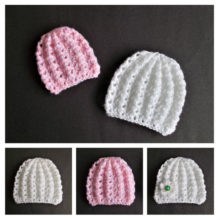 I love this little hat - such a pretty stitch pattern and you will ...