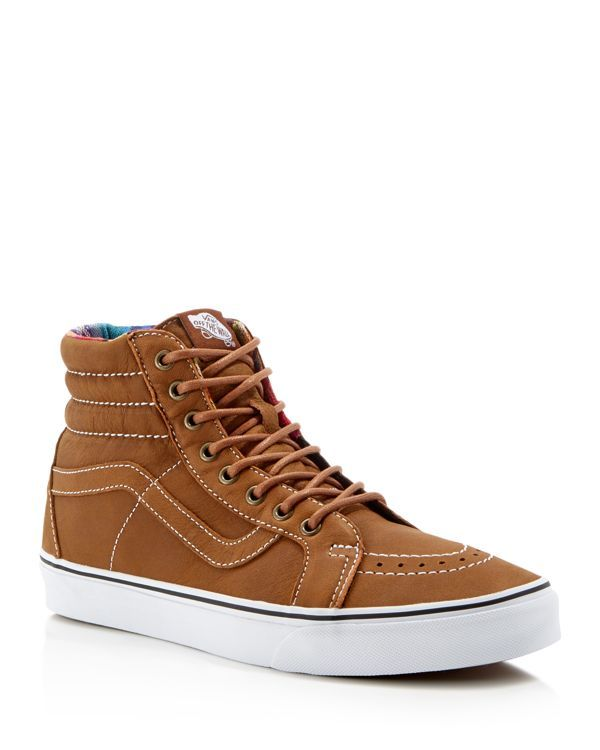 e86215e64eb Vans Sk8-Hi Reissue Leather High Top Sneakers