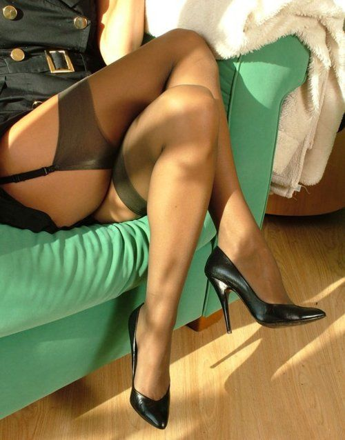 For more gorgeous nylons and stockings, check out http://www.myownprivatefetish.com and http://www.nylonstockings.tv Like us on facebook: http://www.facebook.com/Nylons.Stockings