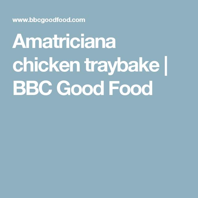 Amatriciana chicken traybake bbc good food recipes pinterest amatriciana chicken traybake bbc good food forumfinder Images