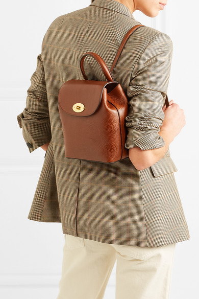 4d57aa080b558 Mulberry - Bayswater mini textured-leather backpack | Products ...