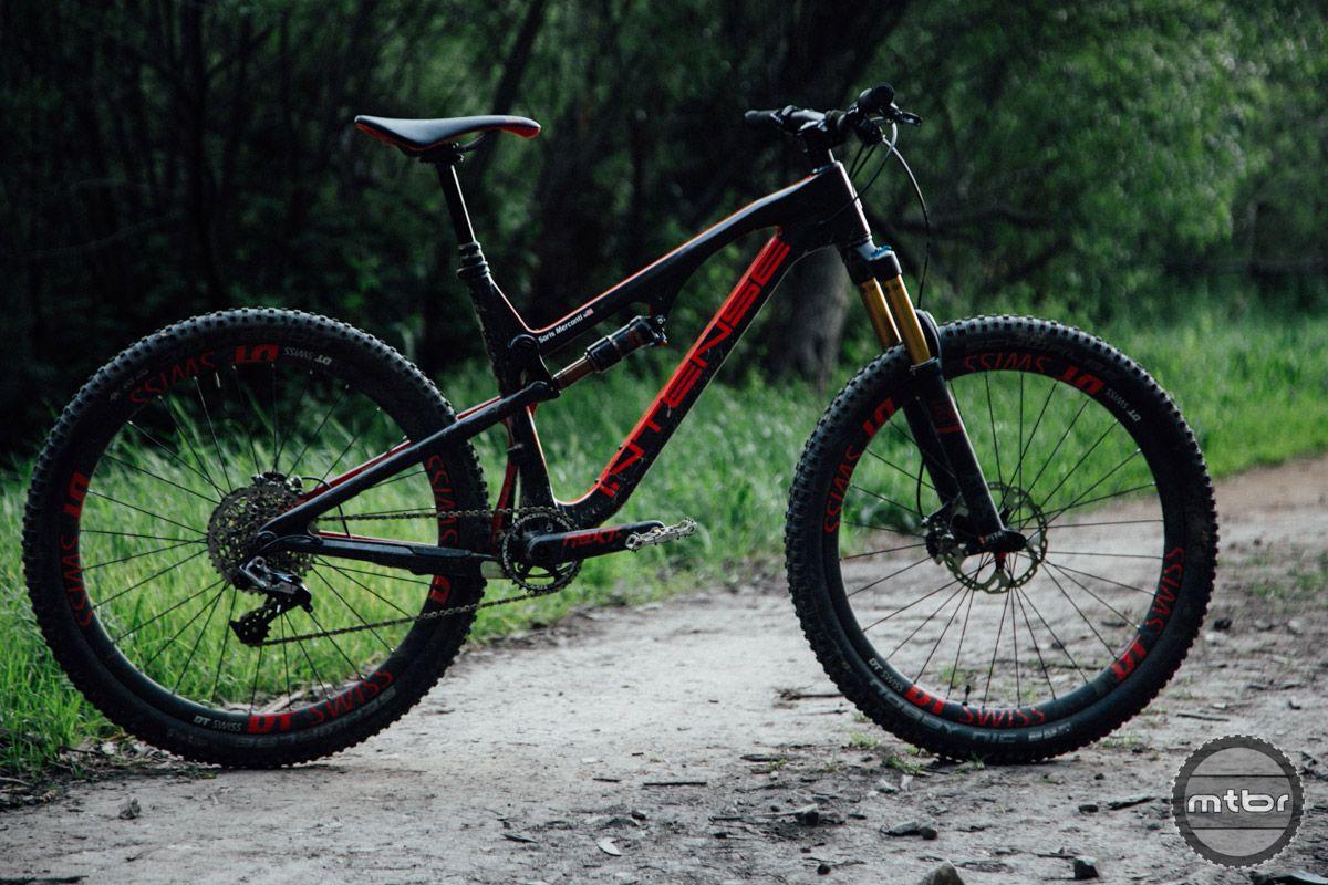 Intense Spider 275 C Review Mtbr Com Intense Bike Trails